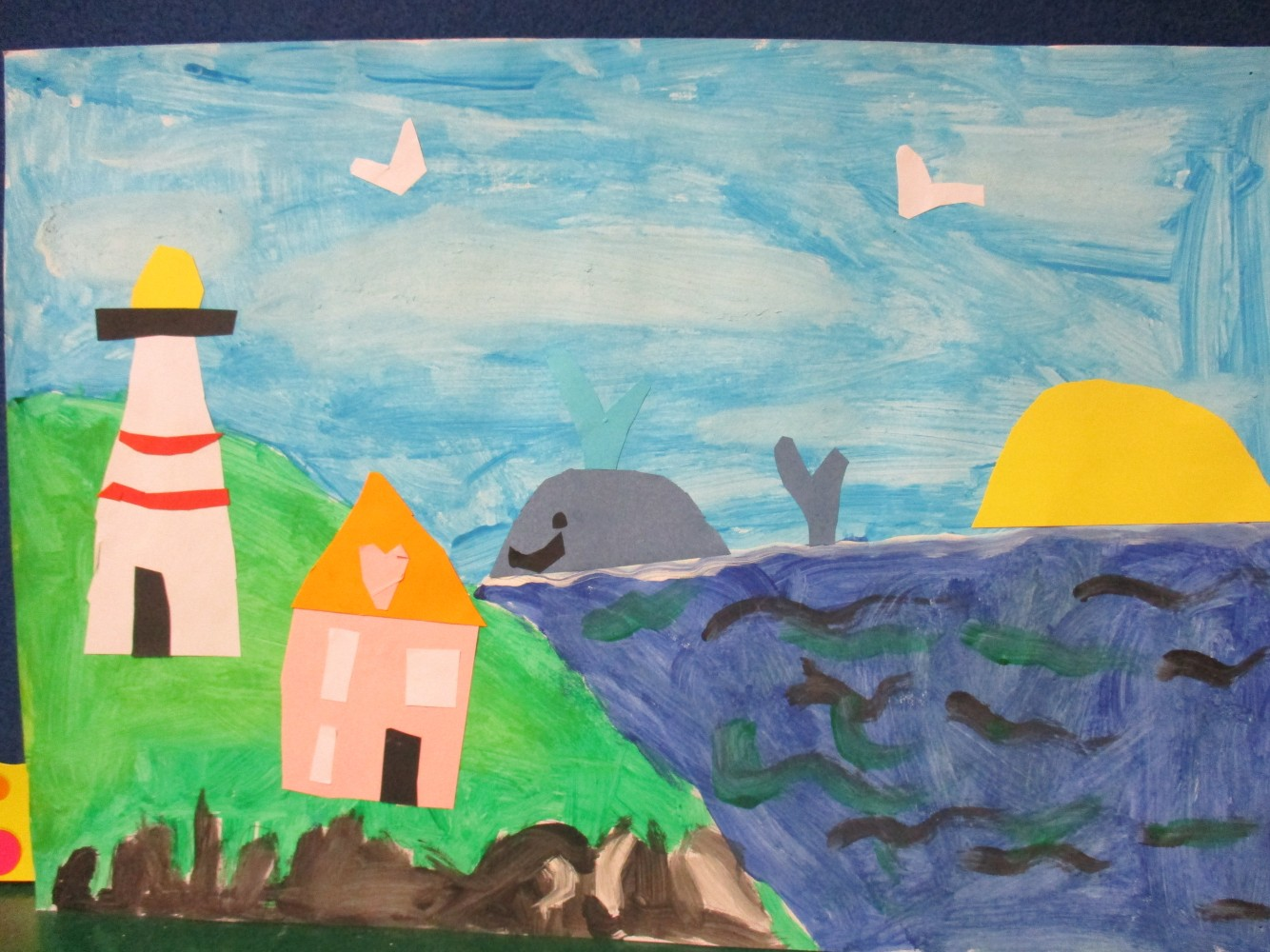 Maud Lewis-Inspired Paintings