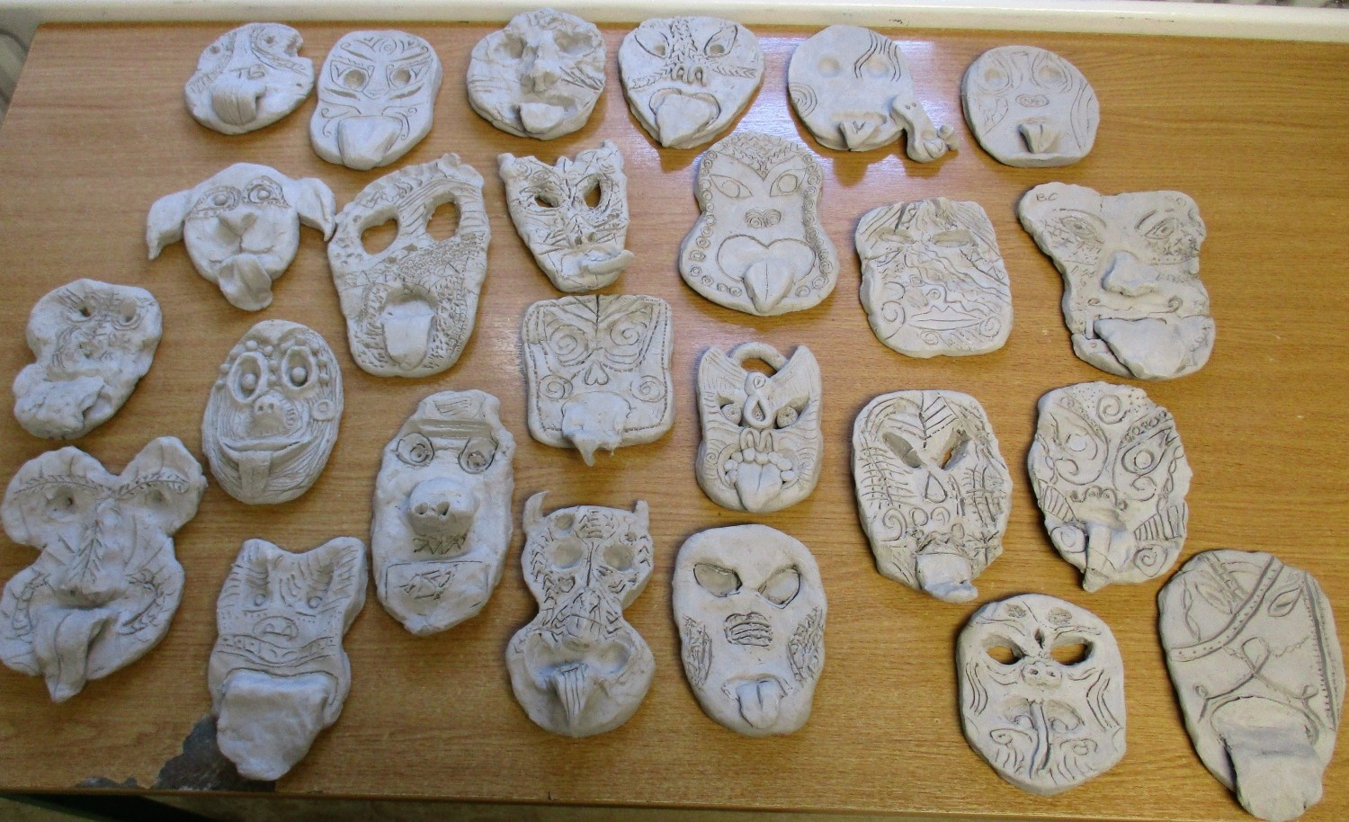 Maori Masks 5th and 6th Class