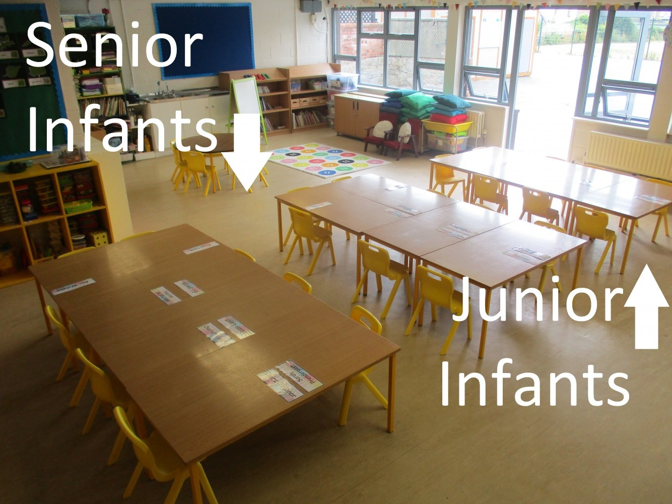 Welcome to Junior and Senior Infants - Sept 2018